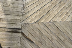 Wood texture. old planks. Old floor made of wooden planks. Background Stock Photography