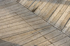 Wood texture. old planks. Old floor made of wooden planks. Background Royalty Free Stock Photo