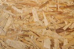 Wood texture. Osb wood board for background decoration Royalty Free Stock Photo