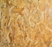 Wood texture. Osb wood board for background decoration Royalty Free Stock Images