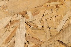 Wood texture. Osb wood board for background decoration Stock Image