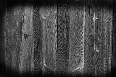 wood texture with patterns, black and white tone Stock Images