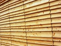 Wood texture. Pavilion facade in Milan Expo 2015 stock image