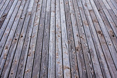 Wood Texture Perspective Background Stock Image