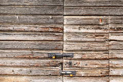 Wood texture. This is a photo of wood texture from village door in switzerland Stock Photography