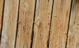 Wood texture plank brown background Stock Photography
