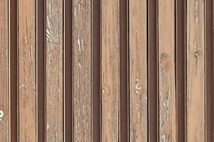 Wood texture plank grain background, old striped timber board, Pasarel Royalty Free Stock Image
