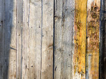 Wood texture plank grain background, wooden desk , old striped timber board. Royalty Free Stock Photos