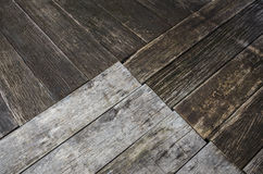 Wood texture plank grain background, wooden desk table or floor.  stock images