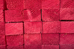 Wood texture red Royalty Free Stock Photo