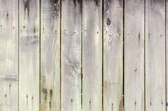Wood texture with rusty nails. Royalty Free Stock Image