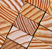 Wood texture. Sawed pieces of wood makes an wooden texture background Royalty Free Stock Images