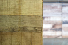 Wood texture. With selective focus on foreground Royalty Free Stock Image