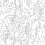 Wood Texture Sketch. Grain cover surface. Wooden fibers. Vector background.  Stock Images