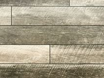 Wood texture on stone concrete flooring. stock photos