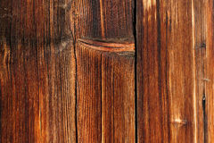 Wood texture sunburn old weathered planks vertical line Royalty Free Stock Image