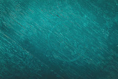 Wood texture teal color Stock Photography