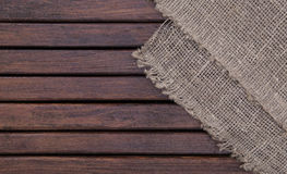 Wood texture and textile background texture Stock Images
