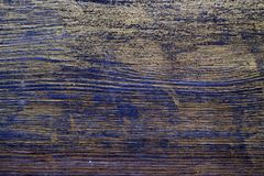 Wood texture treated with ebony stain and gold paint. Surface treatment of antique wood. Wood texture treated with ebony stain and gold paint royalty free stock images
