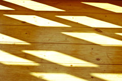Wood texture under natural morning sun beams Stock Image