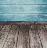 Wood texture. Vector background. Stock Image