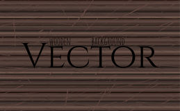 Wood texture, vector Eps10 illustration. Natural Ebony Wooden Background. Royalty Free Stock Photography