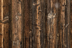 Wood texture - very old and worn wooden planks Royalty Free Stock Photos