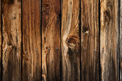 Wood texture - very old and worn wooden planks Stock Photos