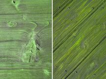 Wood texture, wall. Wood texture. Lining boards wall. set. Wooden background. pattern. Showing growth rings Stock Images
