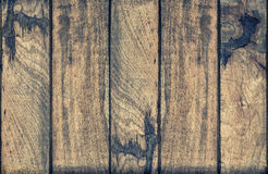 Wood texture. Weathered wooden background vintage toned Royalty Free Stock Photo
