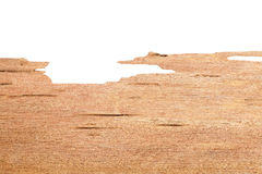 Wood texture on white Royalty Free Stock Image