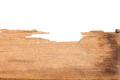 Wood texture on white Stock Photography