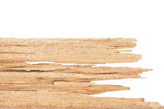 Wood texture on white Royalty Free Stock Photos