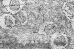 Wood texture, wood background with water stains for design. Royalty Free Stock Images