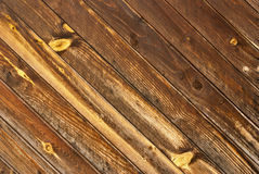 Wood texture with wood's grain. Royalty Free Stock Photography