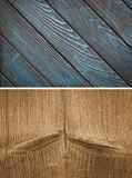 Wood texture. Lining boards wall. Wooden background. pattern Showing growth rings stock image