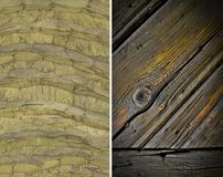 Wood texture. Lining boards wall. Wooden background. set. pattern. Showing growth rings royalty free stock images