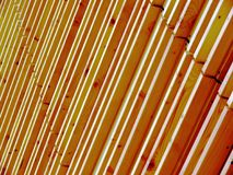 Wood texture. Pavilion facade in Milan Expo 2015 royalty free stock image