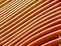 Wood texture. Pavilion facade in Milan Expo 2015 royalty free stock photography