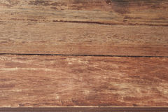 Wood texture, wooden desk table or floor, old striped timber . Royalty Free Stock Images
