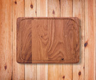 Wood texture. Wooden kitchen cutting board close up. Stock Images