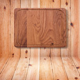 Wood texture. Wooden kitchen cutting board close up. Stock Photo