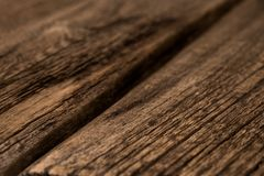 Wood Texture, Wooden Plank Grain Background, Desk in Perspective. Close Up, Striped Timber, Old Table or Floor Board royalty free stock photo