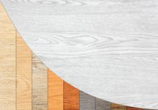 Wood Textured Descending Graph Bars Royalty Free Stock Photo