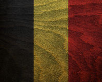 Wood Textured Flag - Stock Photography