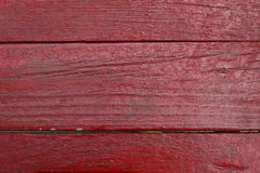 Wood Textured. Red plank Royalty Free Stock Photo