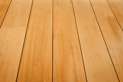 Wood texturperspektivsikt Arkivbild