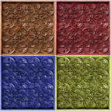 Wood Thai pattern.  Stock Photos