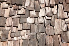 Wood tile background. Old distressed brown wood tile background Stock Photography