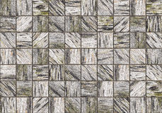 Wood tile pattern background Stock Photo